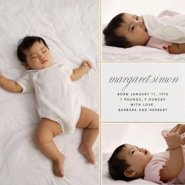 Album - Paperless Post - Birth