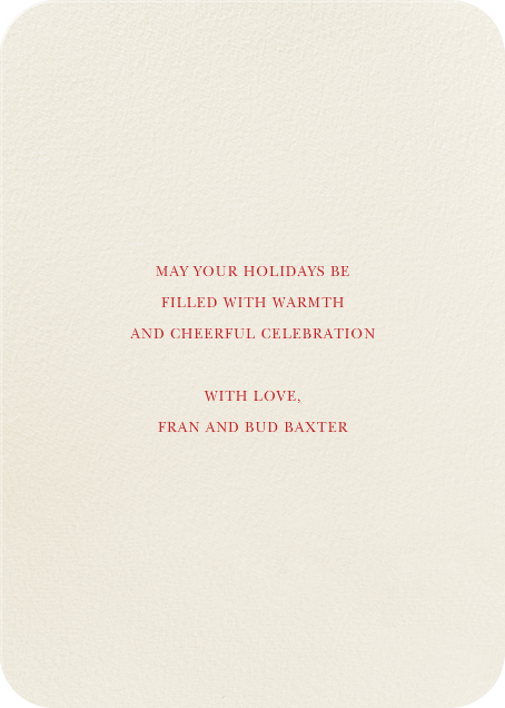 Juggle All the Way - Felix Doolittle - Holiday cards - card back