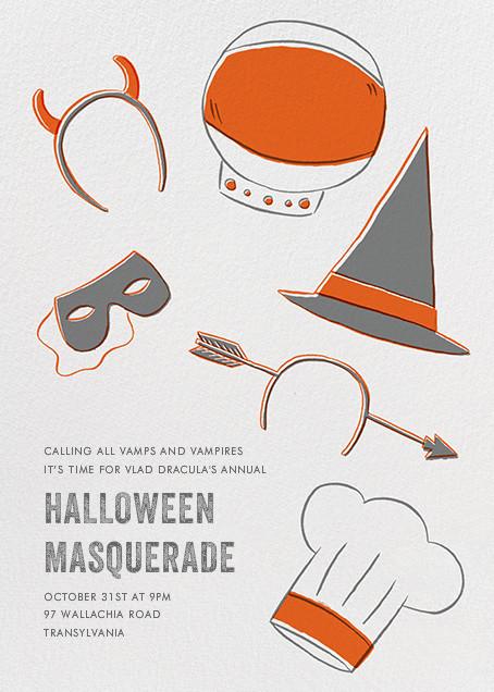 Headressed Up - Paperless Post - Halloween