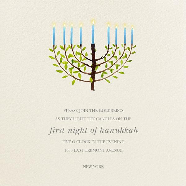Olive Tree Menorah - Felix Doolittle - Hanukkah
