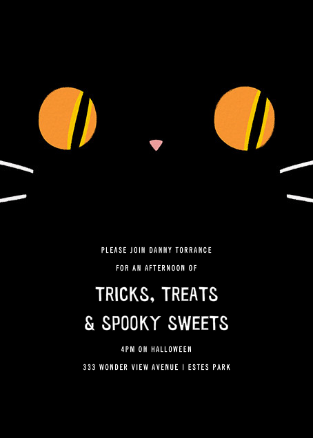 Got Your Tongue - Paperless Post - Kids' Halloween invitations