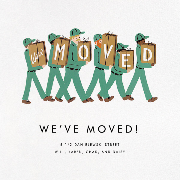 Moving Company - Rifle Paper Co. - Moving