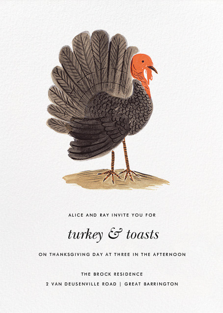 Turkey Time - Rifle Paper Co. - Thanksgiving