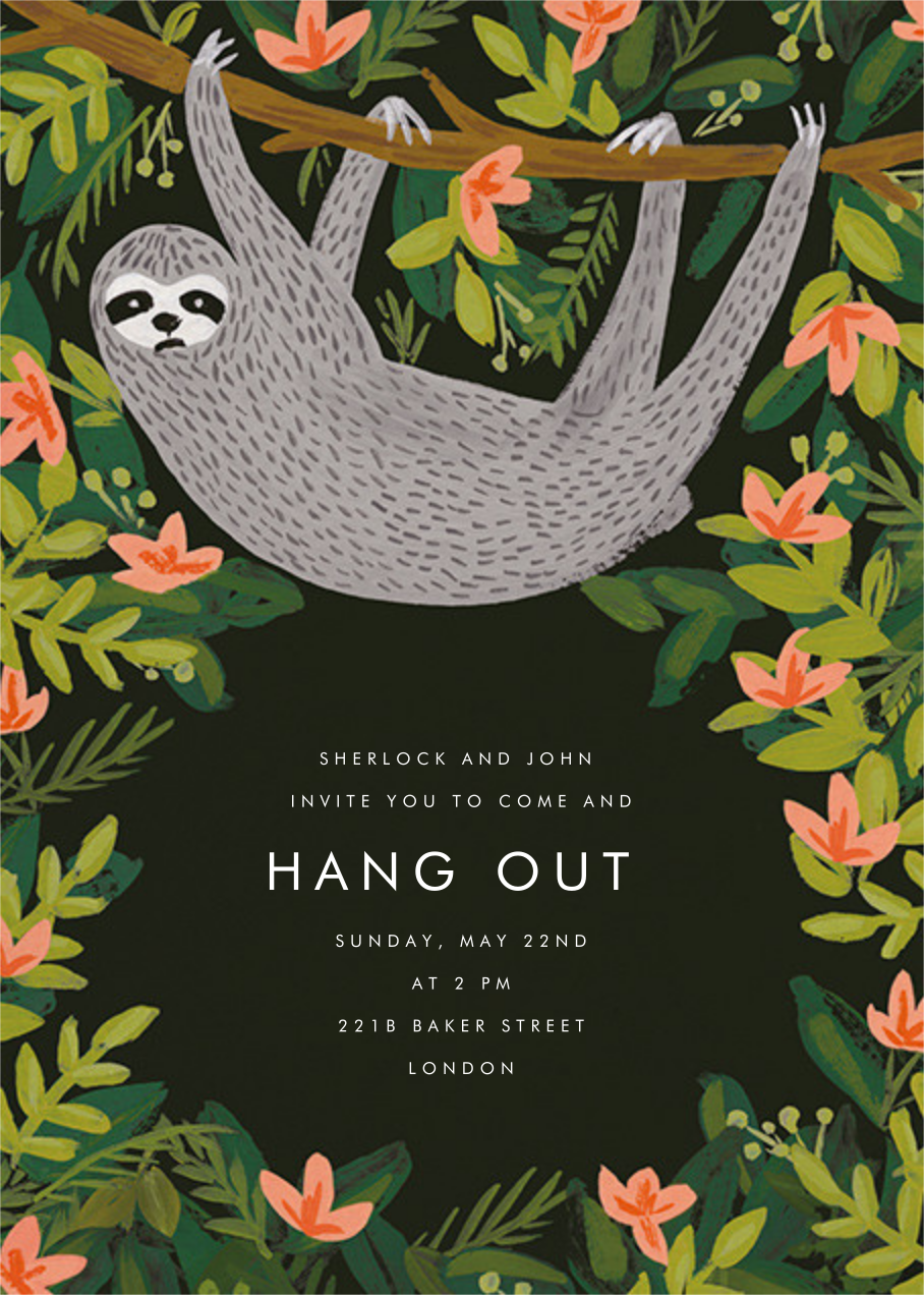 Let's Hang - Hunter Green - Rifle Paper Co. - General entertaining