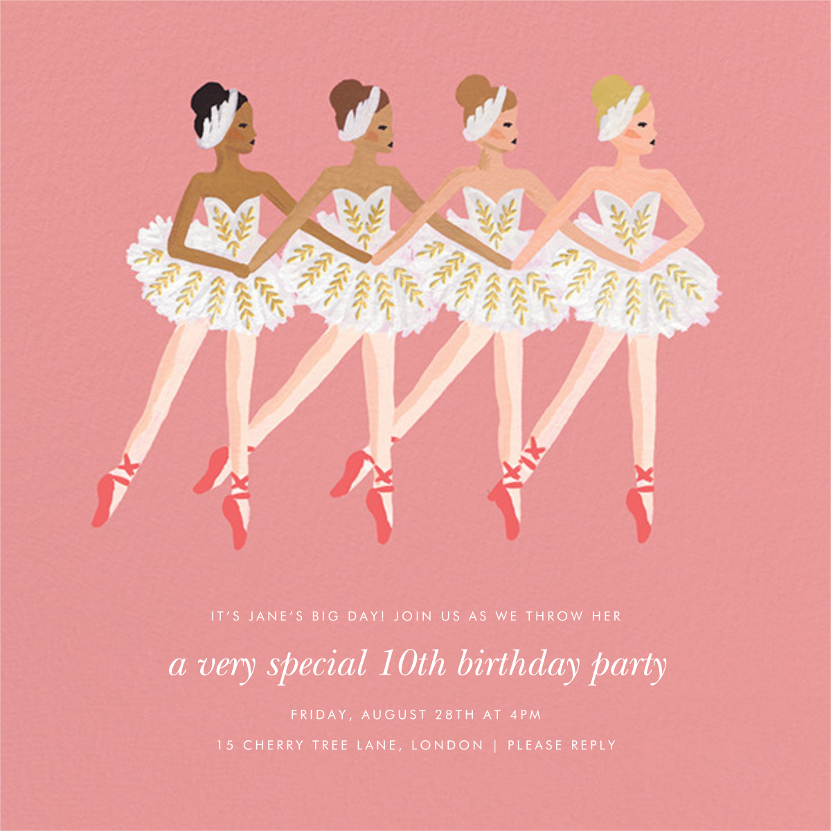 Ballet Day - Rifle Paper Co. - Kids' birthday