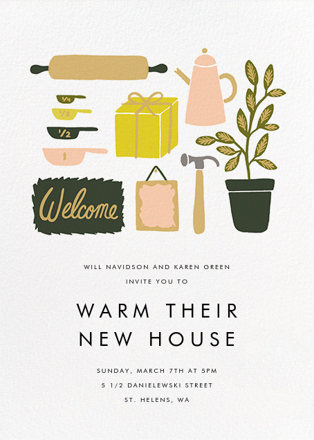 Home Goods - Rifle Paper Co. - Housewarming
