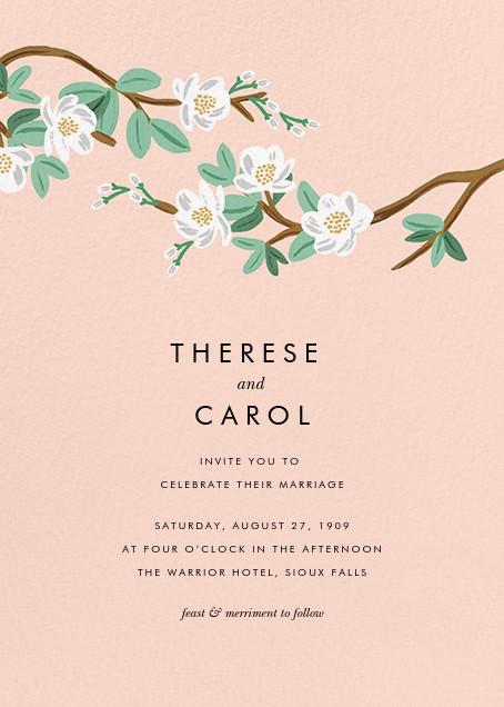 Tea Tree (Invitation) - Peach - Rifle Paper Co. - All