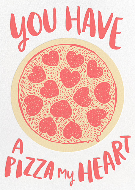 Pizza My Heart - Hello!Lucky - Gal-entines