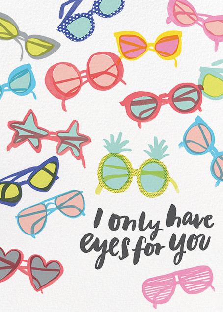 Shades on Parade - Hello!Lucky - Love cards