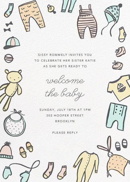 Bundling Basics - Hello!Lucky - Baby shower