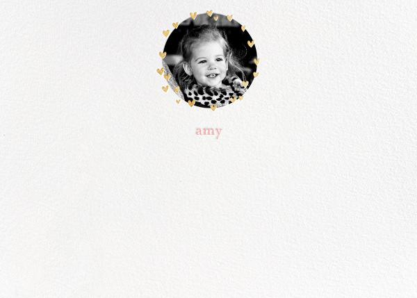 Little Heart Halo (Stationery) - Gold - Little Cube - Kids' stationery