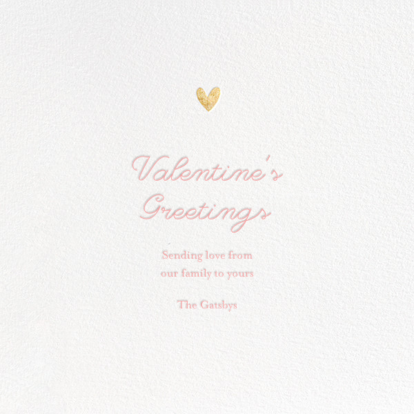 Little Heart Halo (Greeting)  - Little Cube - Valentine's Day - card back