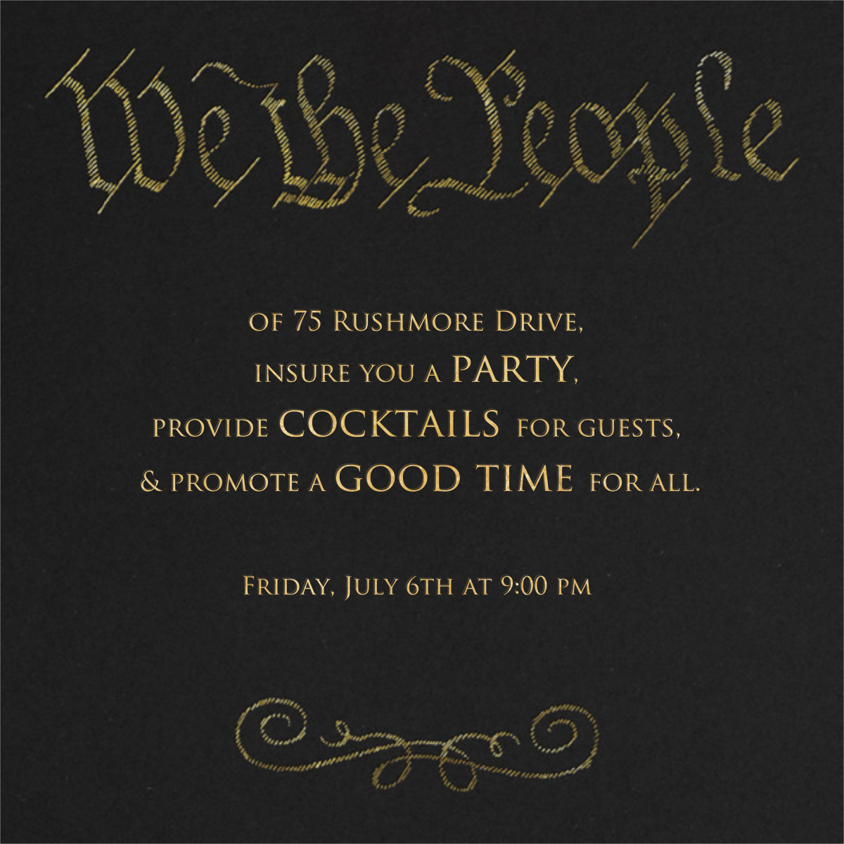 We the People - Paperless Post - 4th of July