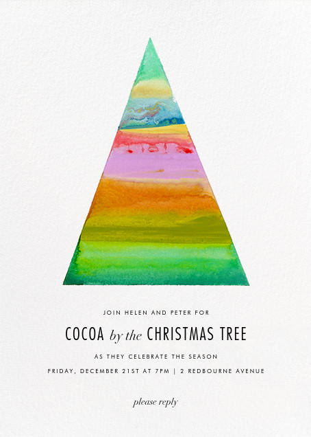 Lux (Invitation) - Kelly Wearstler - Christmas party