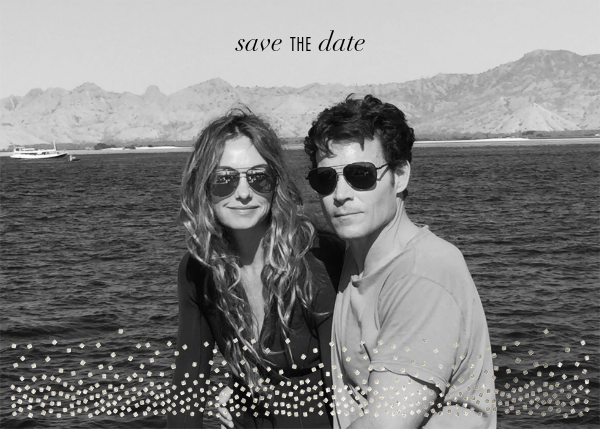 Jubilee (Photo Save the Date) - Silver - Kelly Wearstler - Save the date