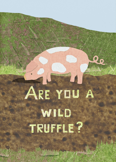 Wild Truffle - Paperless Post - Good luck