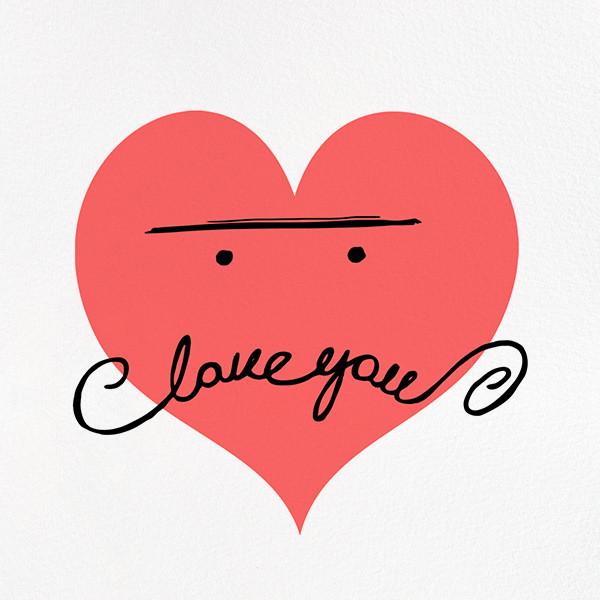 Mustache Love - Paperless Post - Valentine's Day