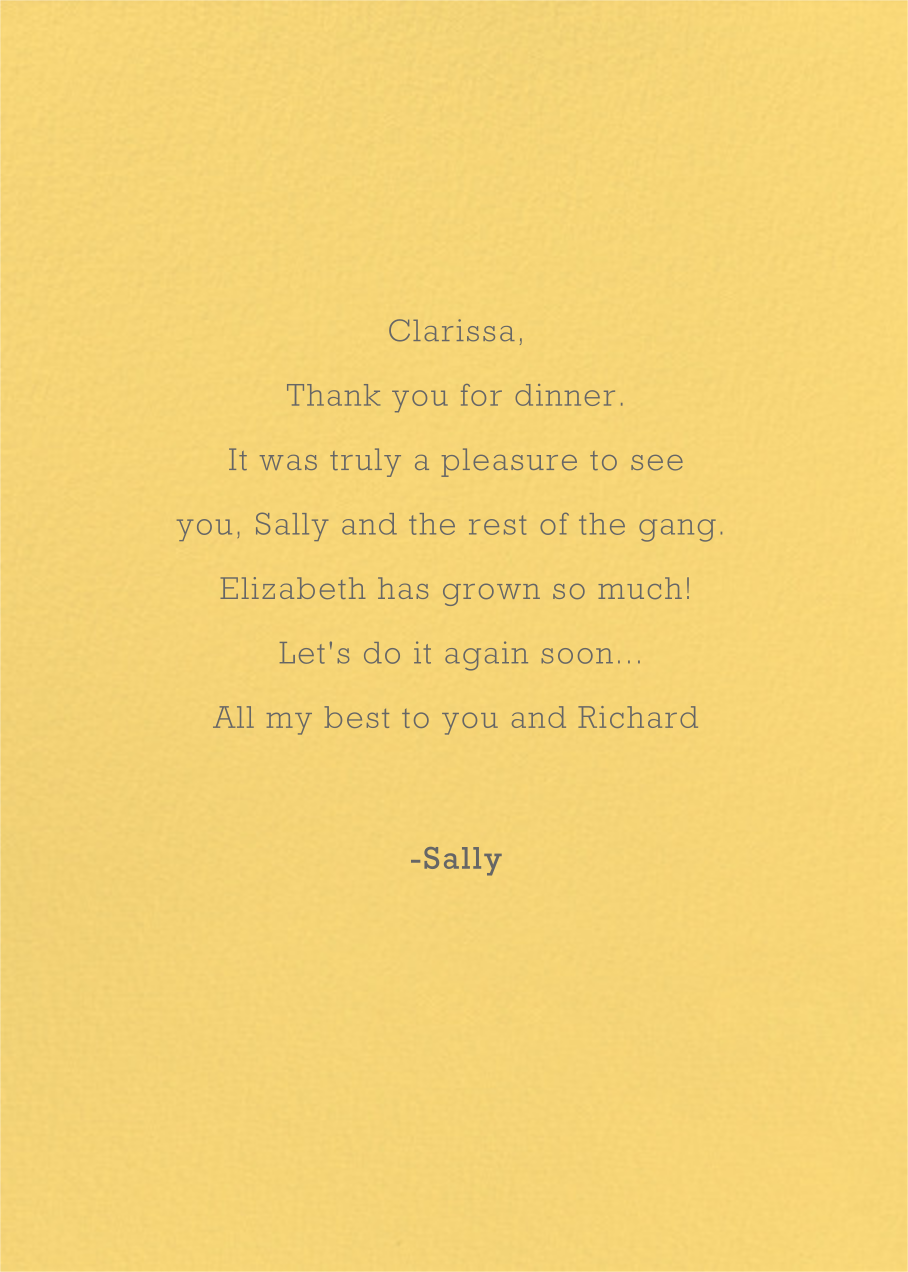 Thank You (Kate Hindley) - Red Cap Cards - Thank you - card back