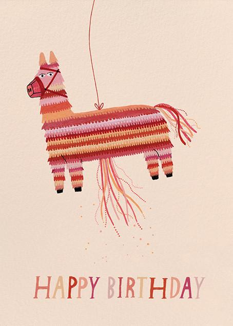Donkey Pinata (Yelena Bryksenkova) - Red Cap Cards