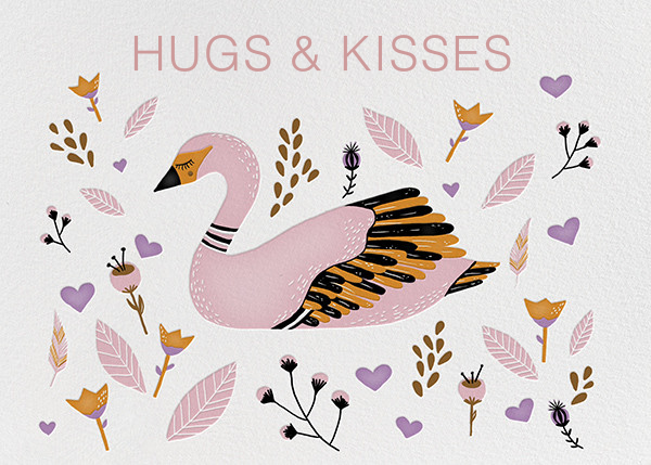 Hugs and Kisses (Carrie Gifford) - Red Cap Cards - Just because