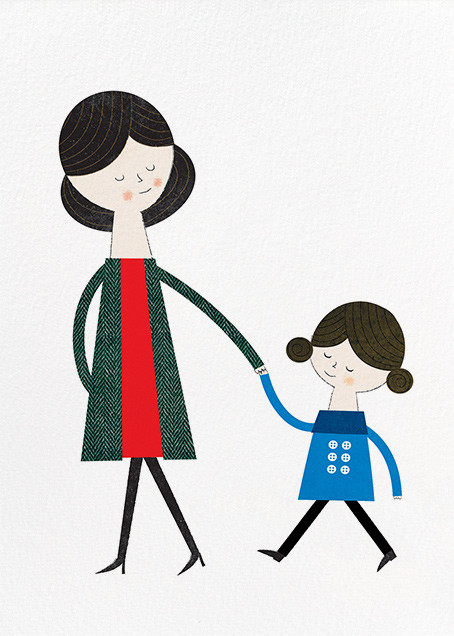 Mom and Me (Blanca Gomez) - Red Cap Cards - Mother's Day