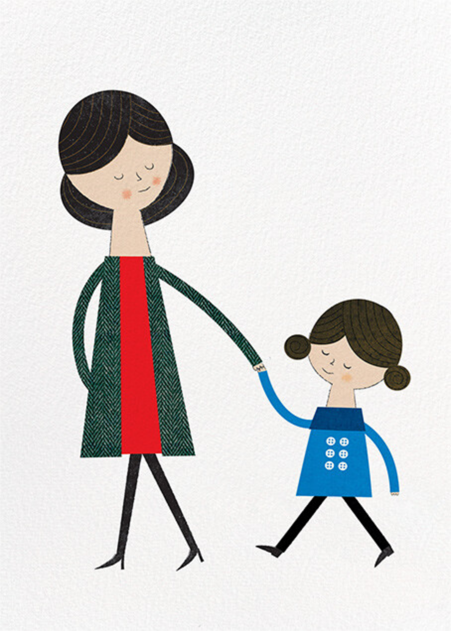 Mom and Me (Blanca Gomez) - Fair - Red Cap Cards
