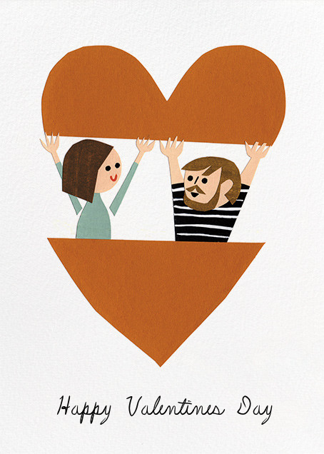 In Your Heart (Christian Robinson) - Red Cap Cards - Valentine's Day