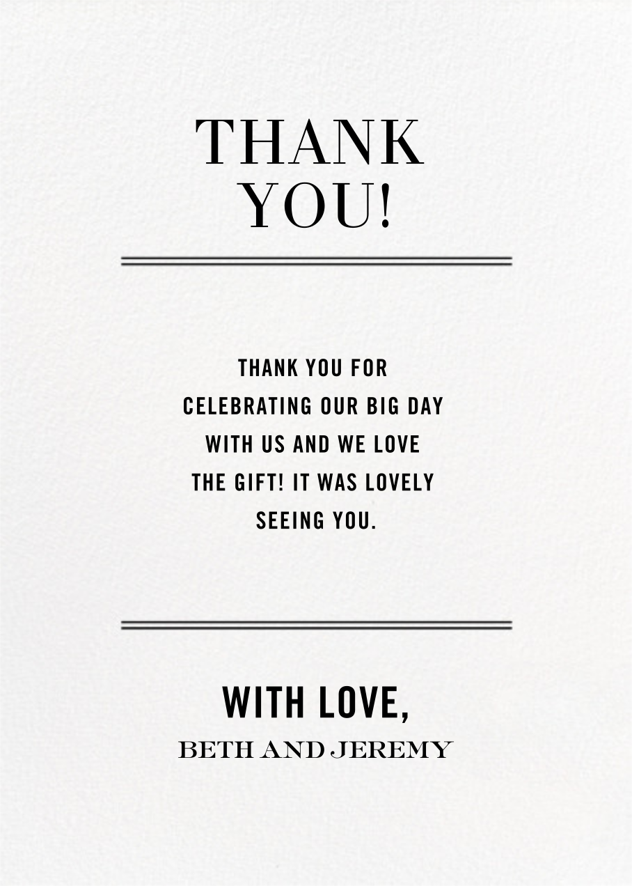 Typographic II (Stationery) - White - kate spade new york - General