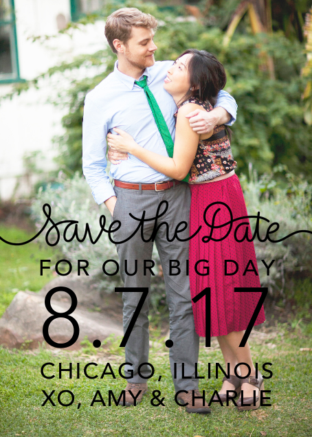 Our Big Day - Black - Crate & Barrel