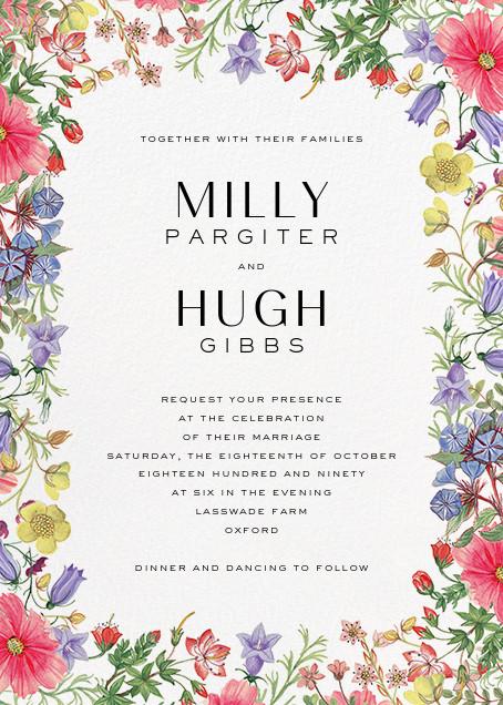 Archival Florals (Invitation) - Liberty - All