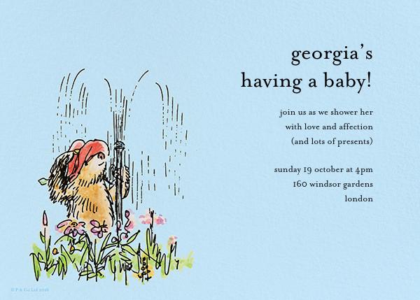 Garden Shower - Blue - Paddington Bear