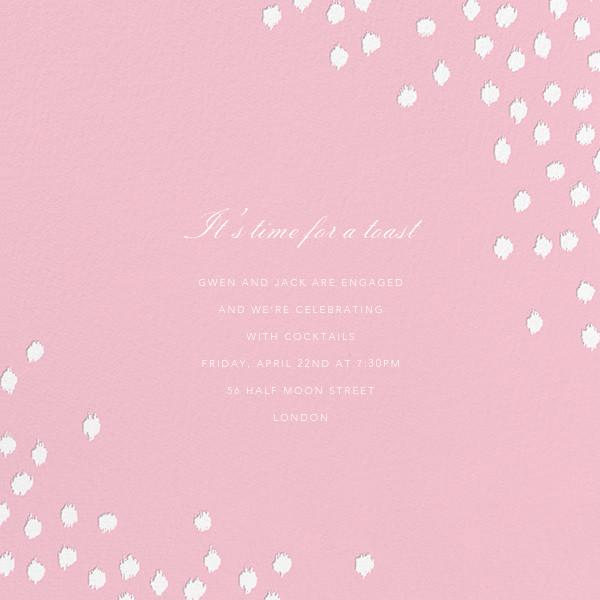 Ikat Dot (Square) - Light Pink - Oscar de la Renta - Engagement party