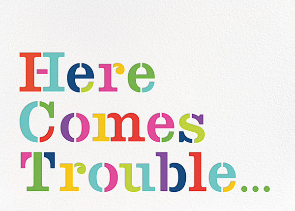 Here Comes Trouble - kate spade new york - Birth