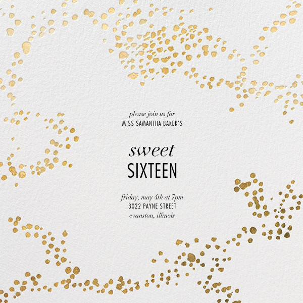 Evoke (Square) - White/Gold - Kelly Wearstler - Birthday