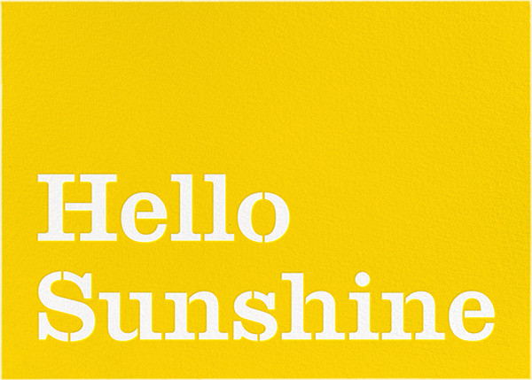 Hello Sunshine - kate spade new york - Just because