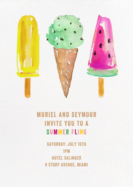 Ice Cream Party - kate spade new york - Summer entertaining