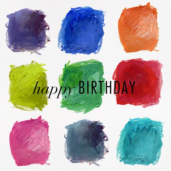 True Colors - Kelly Wearstler - Rainbow invitations