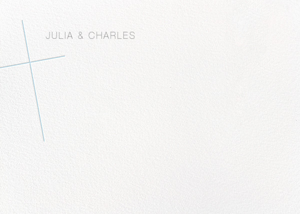 Faithful (Stationery) - Glacier - Paperless Post