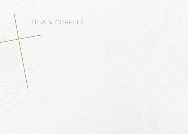 Faithful (Stationery) - Apricot - Paperless Post - Personalized stationery