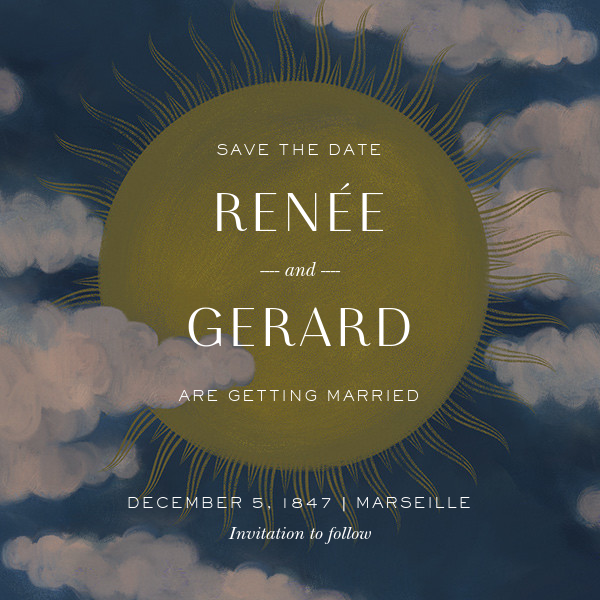 Méliès (Save the Date) - Paperless Post - Save the date