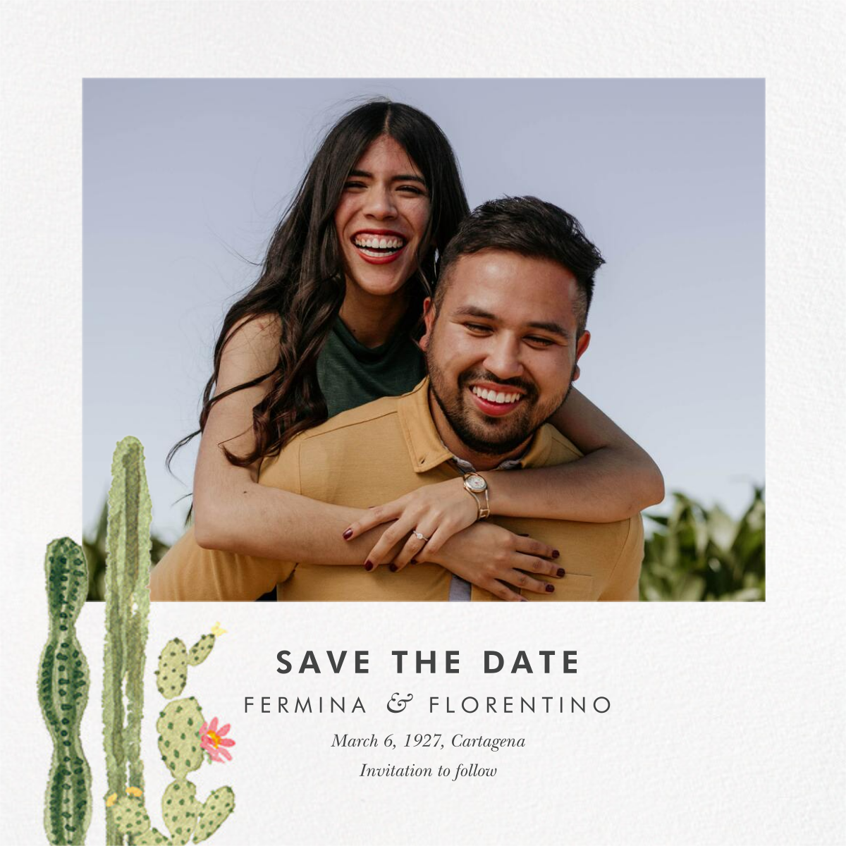 Sonora (Photo Save the Date) - Paperless Post