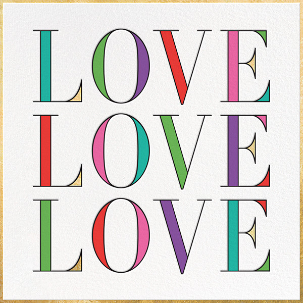 In Love with Love - kate spade new york - Valentine's Day