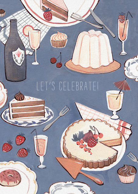Dessert Table (Kelsey Garrity Riley) - Red Cap Cards - Valentine's Day