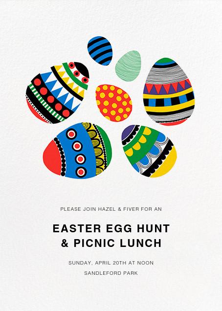 Rai Rai (Invitation) - Marimekko - Easter