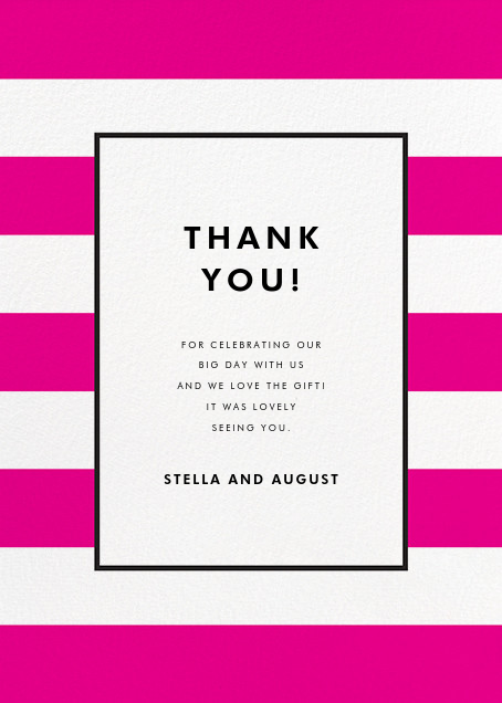 Stripe Suite (Stationery) - Pink - kate spade new york