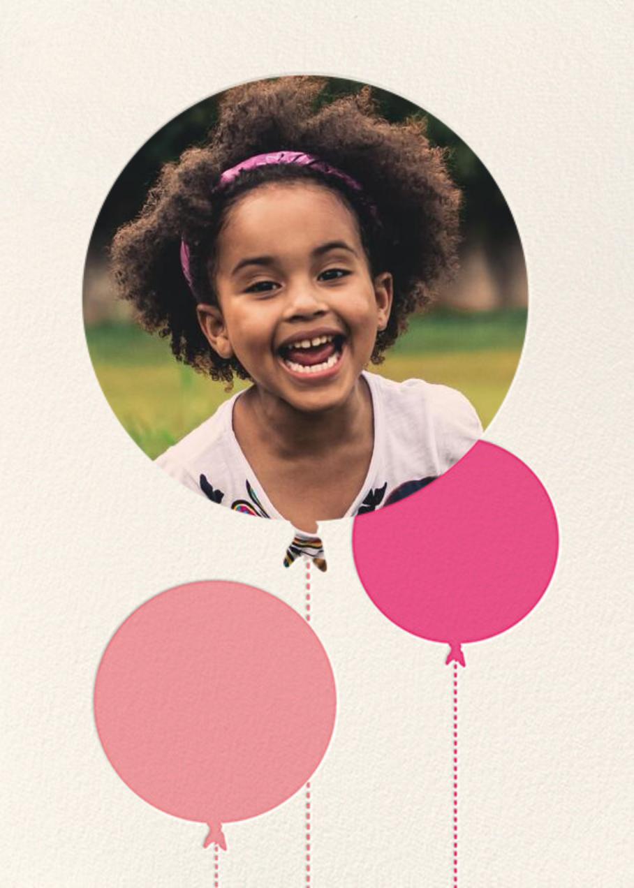 Balloon Birthday (Photo) - Pink - kate spade new york - Kids' birthday