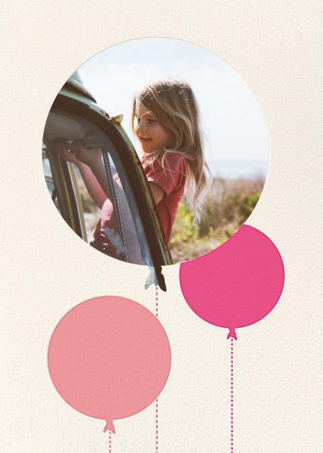 Balloon Birthday (Photo) - Pink - kate spade new york - Milk & Cookies