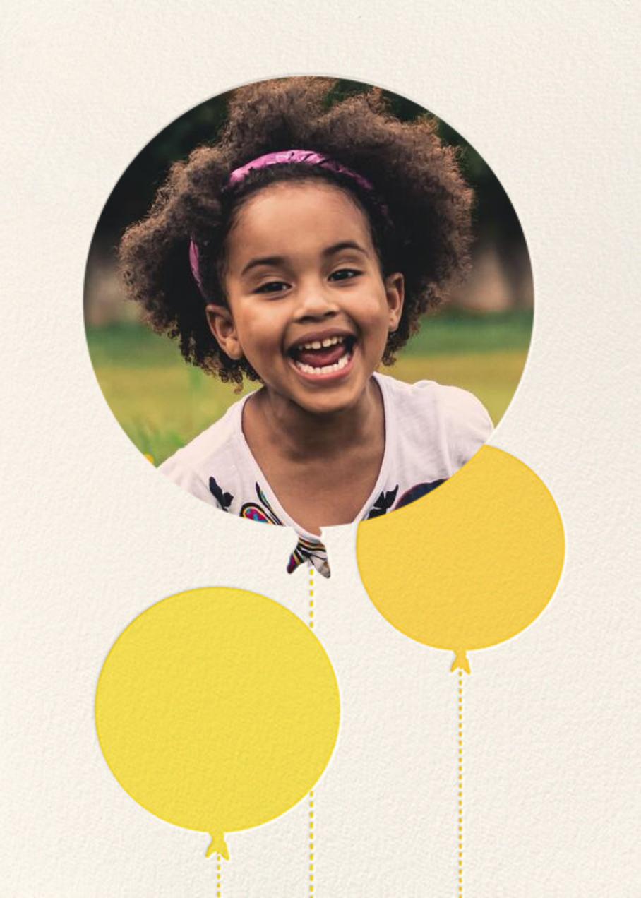 Balloon Birthday (Photo) - Yellow - kate spade new york - Kids' birthday