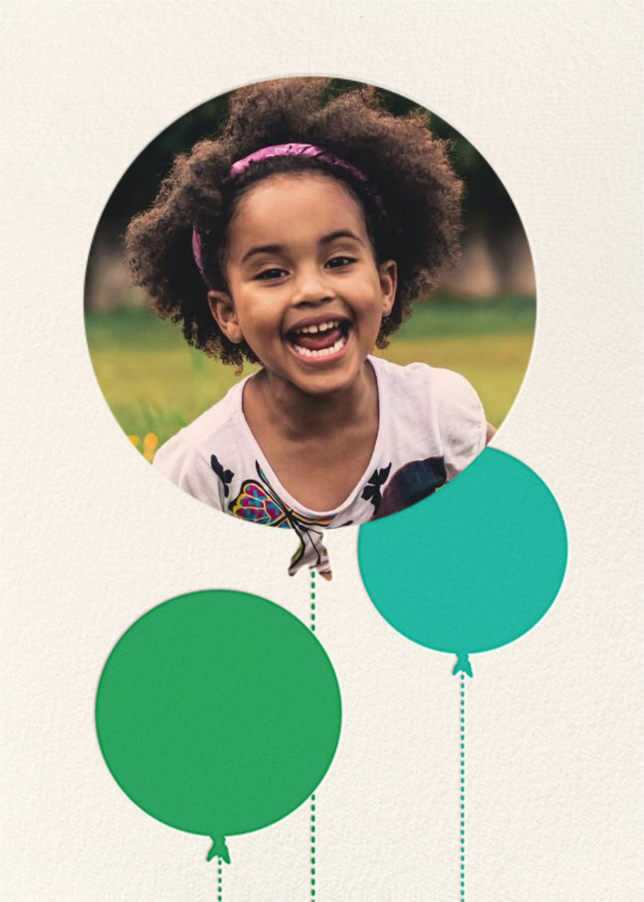Balloon Birthday (Photo) - Green - kate spade new york - Kids' birthday
