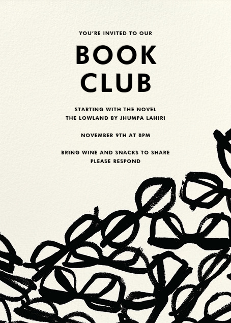 Literary Glasses - kate spade new york - Book club